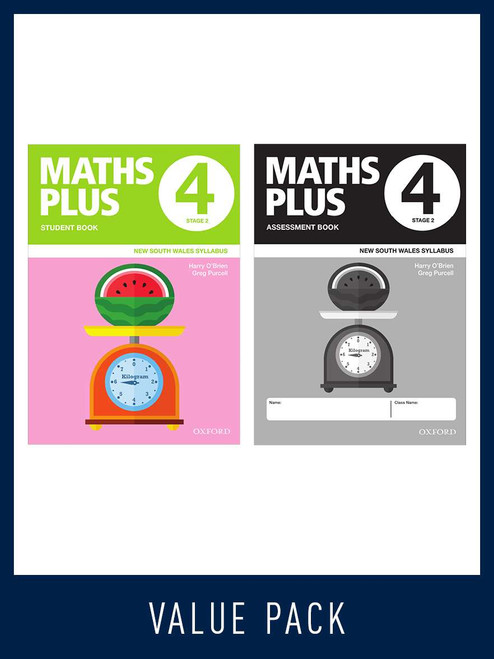Maths Plus NSW Student and Assessment Book 4