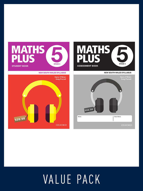 Maths Plus NSW Student and Assessment Book 5
