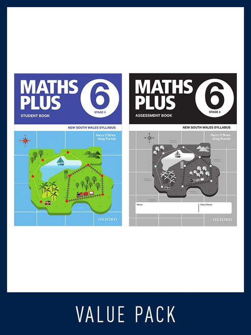 Maths Plus NSW Student and Assessment Book 6