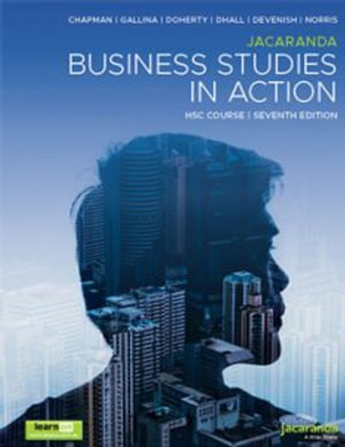 Business Studies in Action HSC 7th Ed.