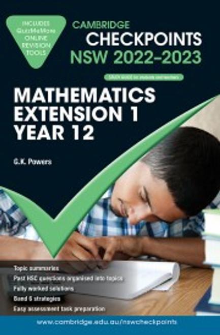 Cambridge Checkpoints HSC NSW: Extension 1 Mathematics Yr 12