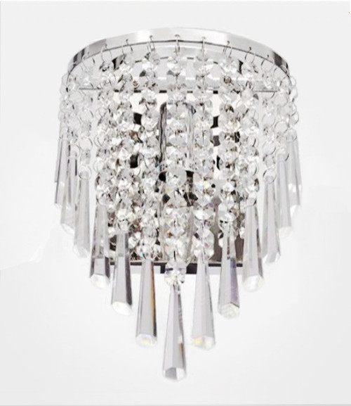 modern crystal wall sconce light fixture, crystal wall light, luminaire mural,luminaire mural foyer