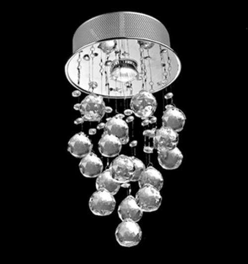 mini small raindrop crystal chandelier light fixture,foyer light fixture,mini small crystal chandelier,crystal ceiling light fixtures flush mount