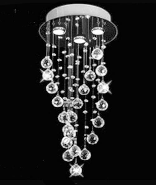 raindrop spiral crystal chandelier light, spiral chandelier, spiral light fixture, raindrop crystal chandelier, spiral crystal light fixture, crystal bathroom chandelier, hallway light fixture, mini style chandelier, mini small crystal chandelier , small foyer chandelier