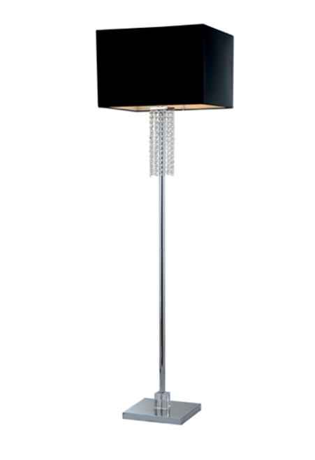 Crystal Floor Lamp Montreal, floor lamp Montreal, floor lamp with black shade Montreal,Modern Floor Lamp,Contemporary Floor Lamp Montreal,Modern Floor Lamp Canada,Lampe sur Pied