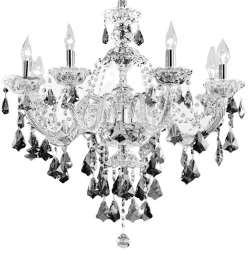 grey crystal chandelier, grey classic chandelier, crystal chandelier, crystal chandelier grey, dining room chandelier, dining room crystal chandelier, crystal chandelier Montreal, grey dining room chandelier