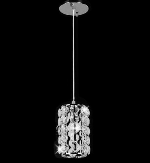 small 1 light mini chandelier, island dining room foyer crystal pendant chandelier light fixture, hanging crystal pendant light, crystal pendant light fixture, crystal pendant island light, mini chandelier, chrome crystal pendant light, crystal pendant light over Island