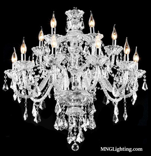 2 story foyer staircase dining room living room traditional candle crystal chandelier,candle crystal chandelier,luminaire en cristal,luminaire chandelier,chandelier Montreal,foyer chandelier,staircase chandelier