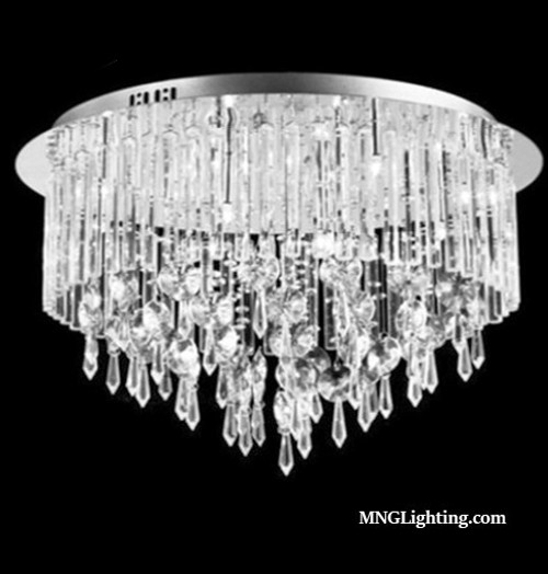 flush mount crystal chandelier ceiling light fixture,crystal ceiling light fixtiure,luminaire,lustre cristal,crystal ceiling light,luminaire plafond