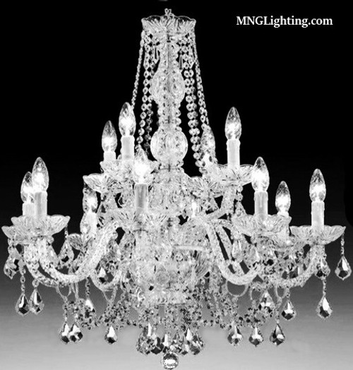 chandelier, traditional crystal chandelier, traditional chandelier 12 light, traditional 2 story foyer chandelier, classic crystal chandelier, 12 light traditional crystal chandelier, entryway traditional chandelier, 2 story chandelier, traditional chandelier for foyer, staircase traditional chandelier, staircase transitional chandelier, lustre cristal, lustre salle à manger, lustre d'escalier, traditional Crystal Chandelier Canada