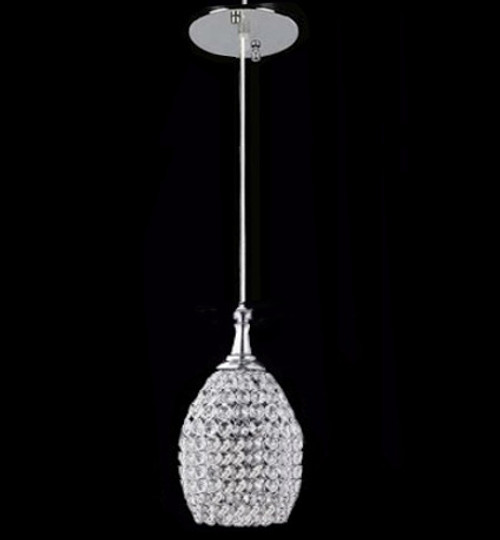 island dining room kitchen crystal pendant light fixture
