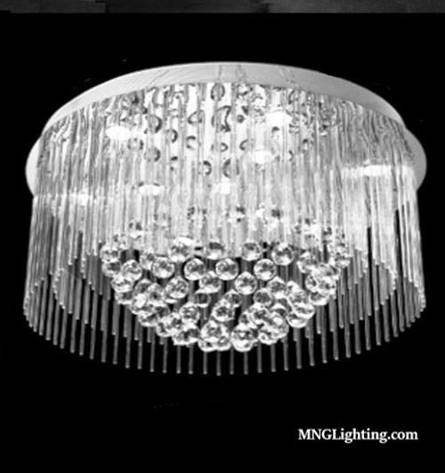 Flush Mount Crystal Chandelier Ceiling Light Mc40025 Crystal