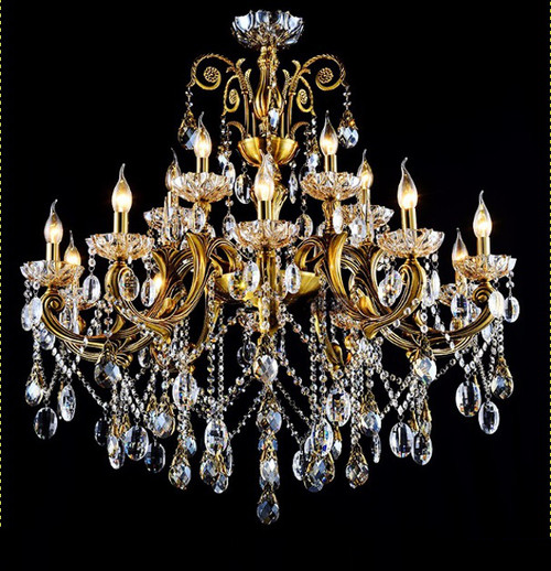 brass antique crystal chandelier,crystal chandelier,candle chandelier