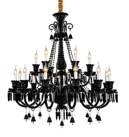 chandelier, traditional 18 lights black crystal chandelier,chandelier for sale,crystal chandelier for sale