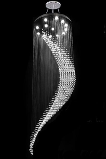 modern spiral crystal pendant chandelier light fixture, high ceiling lighting fixture, foyer raindrop spiral light fixture, high ceiling chandelier, crystal raindrop spiral chandelier, staircase chandelier, chandelier for high vaulted ceilings, raindrop crystal chandelier, long high ceiling staircase foyer modern raindrop crystal chandelier light fixture, modern chandelier for high ceiling, long chandelier, high ceiling chandelier, long crystal chandelier, long chandelier modern, staircase chandelier, long chandelier for vaulted ceiling, long chandelier for high ceilings, long chandelier for staircase, long chandelier, wave crystal chandelier