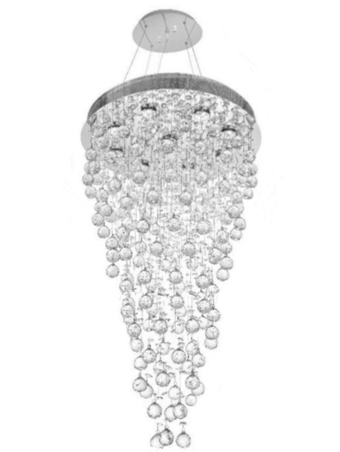 rain crystal pendant chandelier light fixture, rain drop crystal pendant chandelier