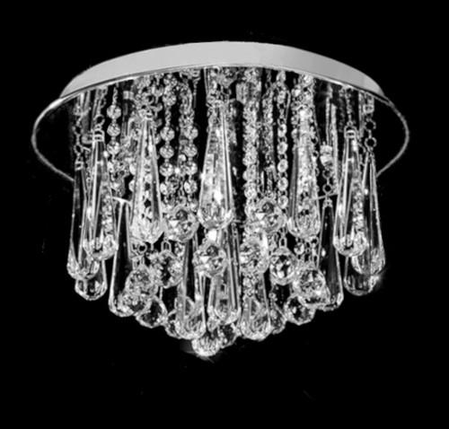 3 lights crystal ceiling chandelier light fixture, crystal ceiling light, round crystal ceiling light fixture, 3 light crystal ceiling light fixture, bedroom light fixture, entryway light fixture, foyer light fixture, low ceiling light fixture