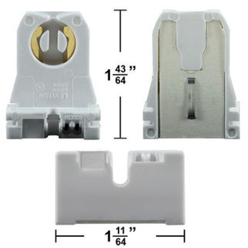 "Short (1-1/2"") Shunted Bi-Pin Socket"