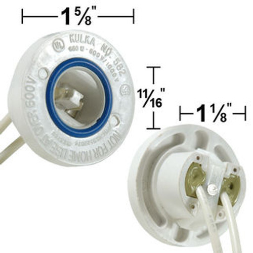 Stationary Sign Socket with Leads