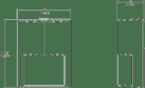 "ENTRA12W  -  Rab Lighting -  12 Watt LED ""Entrance"" Wallpack  White"
