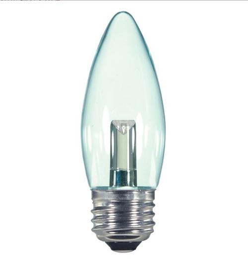 1.4 WATT MEDIUM BASE DECORATIVE LED LAMP 27K (EQUAL TO 15W) - SATCO #S9154