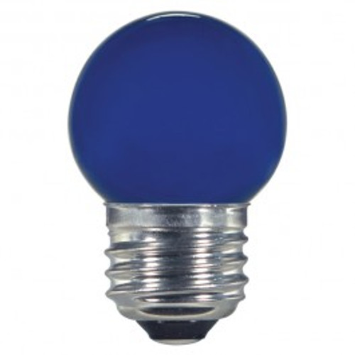 1.2 WATT S11 LED LAMP BLUE 27K (EQUAL TO 10W) - SATCO #S9162