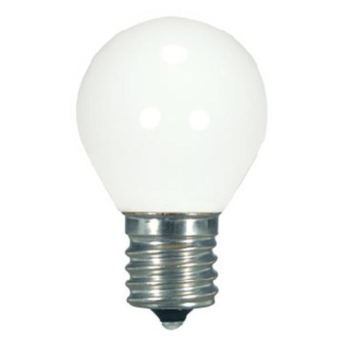 1.2 WATT S11 LED LAMP WHITE 27K INTERMEDIATE BASE (EQUAL TO 10W) - SATCO #S9168