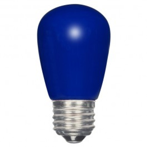 1.4 WATT S14 LED LAMP BLUE 27K (EQUAL TO 11W) - SATCO #S9172