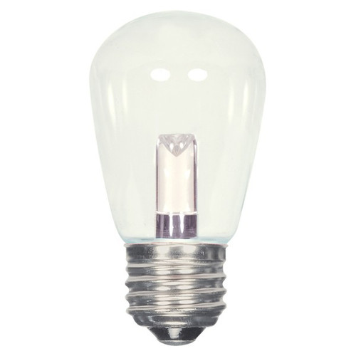 1.4 WATT S14 LED LAMP CLEAR 27K (EQUAL TO 11W) - SATCO #S9174