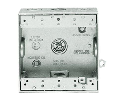 RAB Lighting Double Gang Rectangular Electrical Box