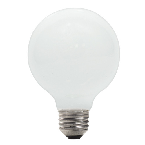 43 Watt Soft White G25 Globe EcoHalogen