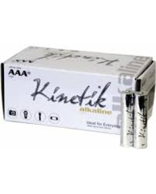 AAA Kinetik Batteries 50 Pack