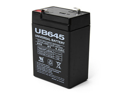 EMERGENCY EXIT BATTERY - 6 VOLT 4.5 AMP