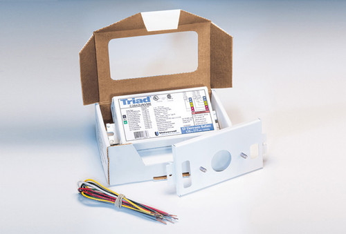 Electronic Ballast for 1 or 2 - 18w Compact Fluorescent (4-pin) lamps