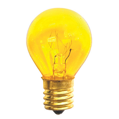 10 Watt S11 Transparent Yellow
