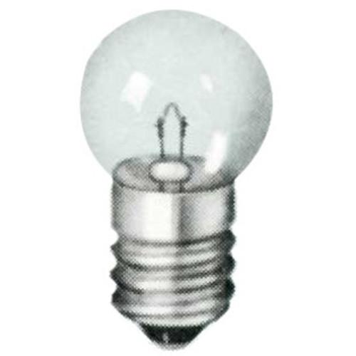 509K Miniature Lamp  -  24v  .18 Amp - G6 Shape - Candelabra Base