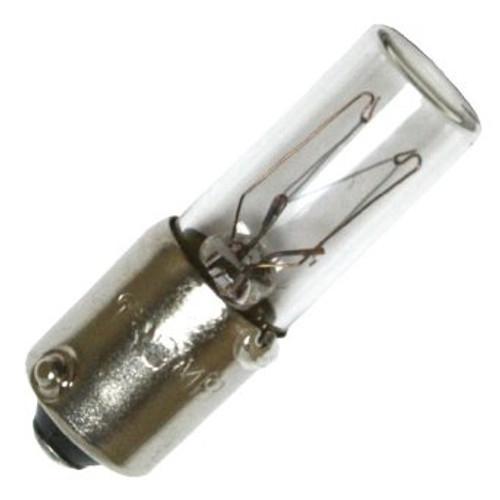 130MB Miniature Lamp  -  130v  .025 Amp - T2.5 Shape - Mini Bayonet Base