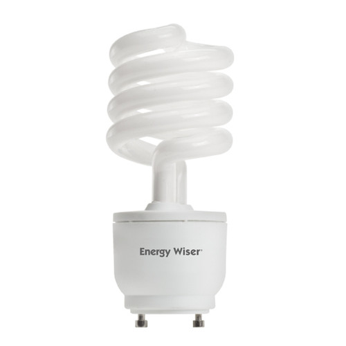 23 Watt Spiral Dimmable CFL GU24 Base 2700K