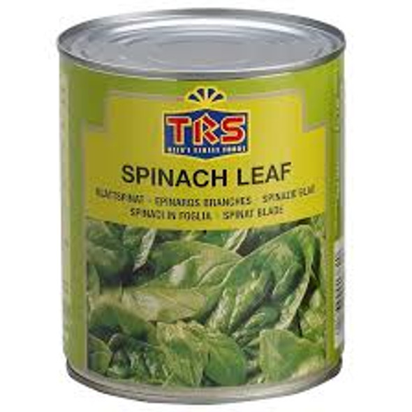 TRS Canned Spinach Leaf