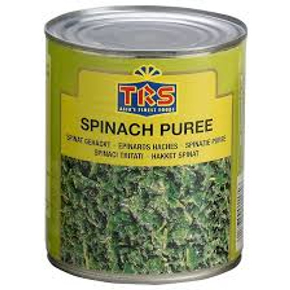 TRS Canned Spinach Puree  800g