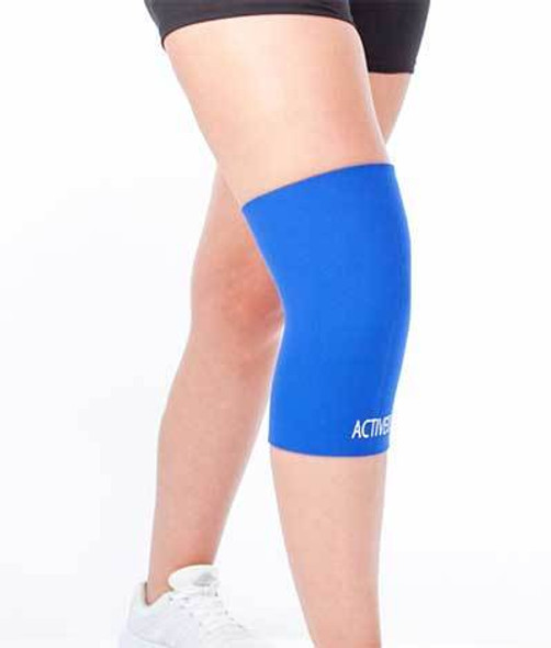 KNEE SUPPORT ELASTIC EASY TO WEAR SUITABLE FOR ALL SPORTS UK Stock