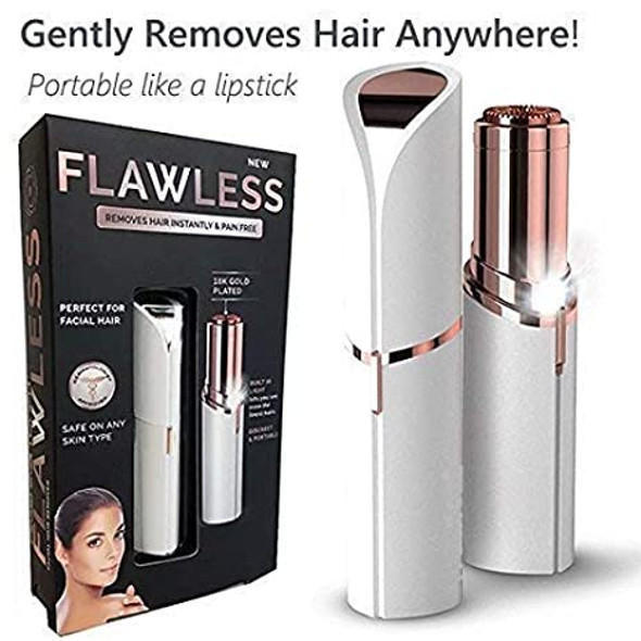 Finishing Touch Flawless Facial Hair Remover Discreet Pain-Free Epilator UK