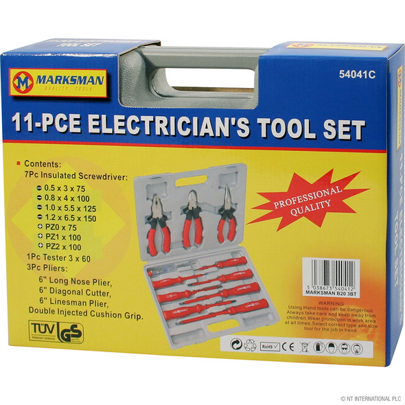 11pc Combination Tool ( Screwdriver and Pliers )