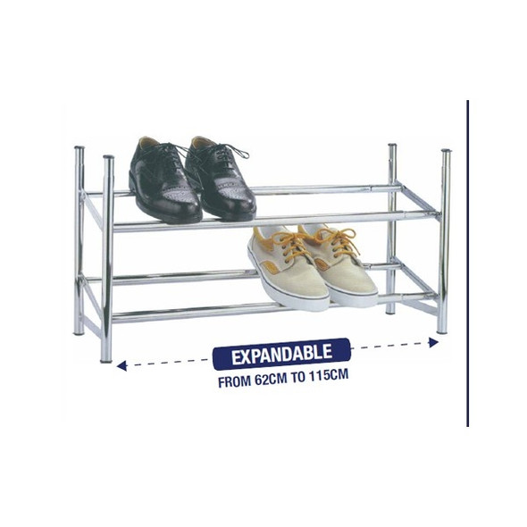 Knight 2 Tier Shoe Rack