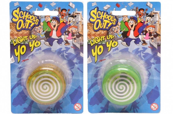 Light Up Yoyo - schools Out