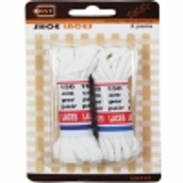 Shoe Laces White 2pk 150cm (Bs933)
