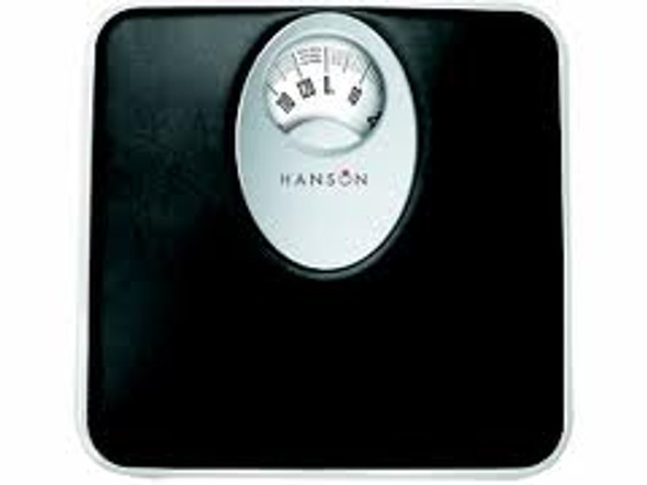 Hanson Mechanical Bathroom Scales With Magnified