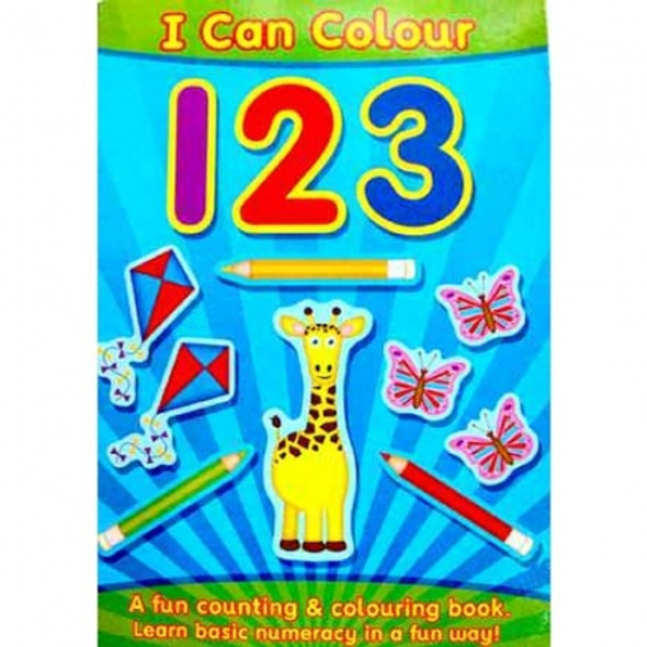 123 Counting & Colouring Book