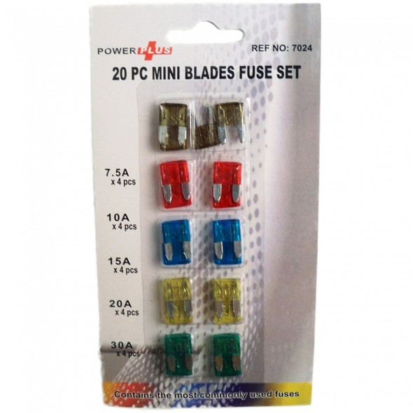 Mini Car Fuses Pack Of 20
