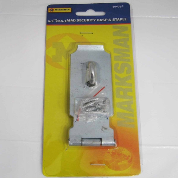 Security Hasp And Staple 4.5inch
